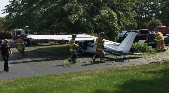 911 calls released after small plane crash in Plainville