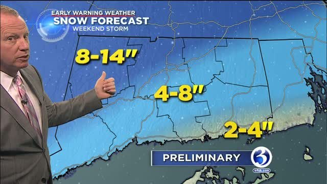 FORECAST: Big storm on the way this weekend