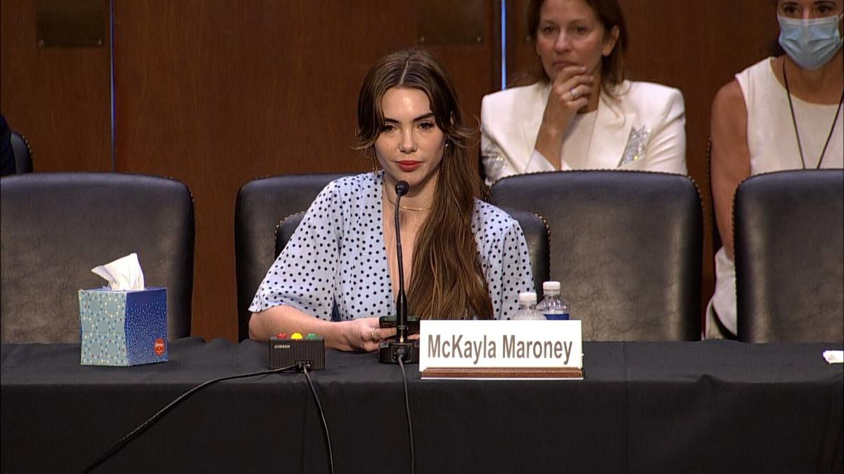 McKayla Maroney: FBI made 'entirely false claims about what I said'