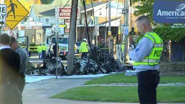 Man killed in East Hartford plane crash on Tuesday
