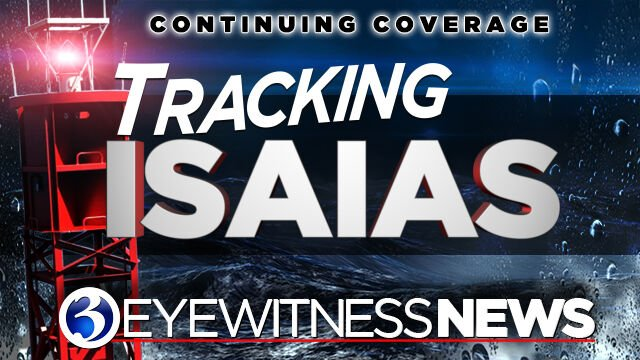 Tracking Isaias