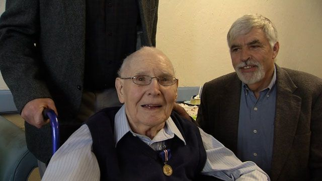 CT veteran honored on his 100th birthday