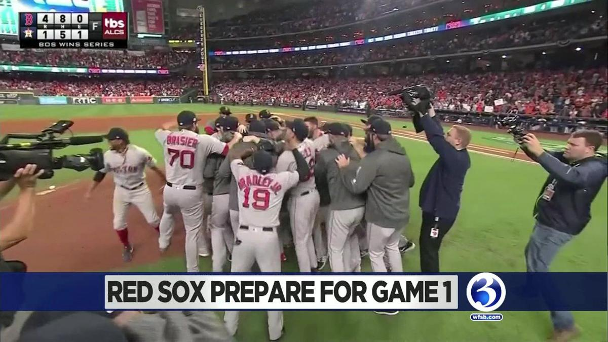 Red Sox host media day ahead of Game 1 of the World Series