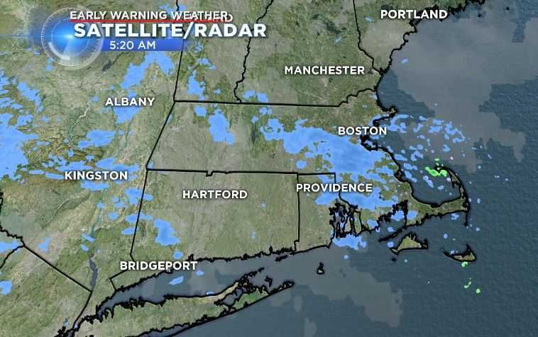 Sunday's temps on cooler side, snow showers possible