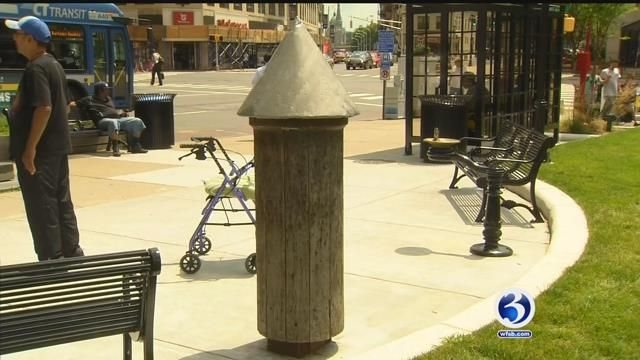 City leaders will take down, preserve Waterbury's whipping post