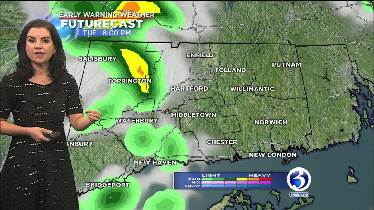 FORECAST: Rumble of thunder could accompany some shower activity