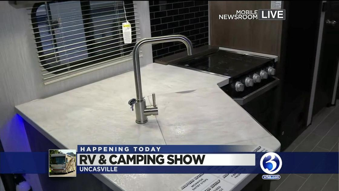 VIDEO  Southern CT RV   Camping show opens this weekend  8c0c571cb