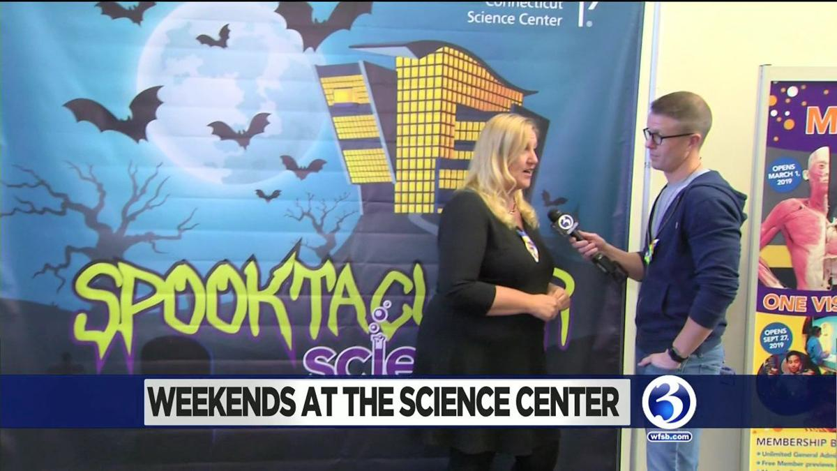 Weekends at the Science Center: Spooktacular Science