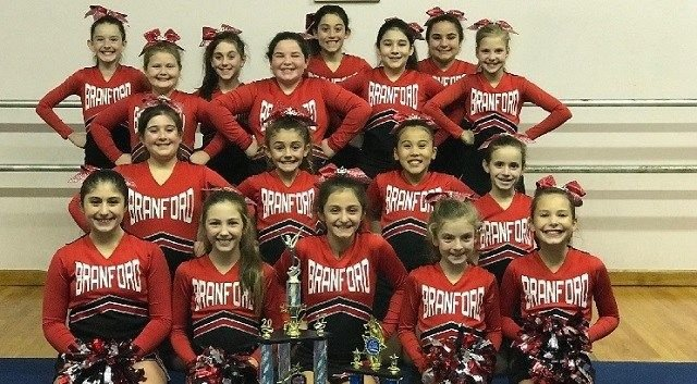 Journey to Florida is well deserved for Branford Youth Cheerleaders