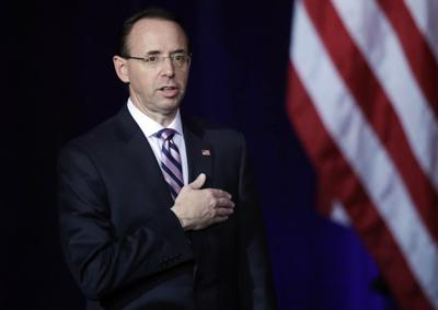 DOJ Conference Rosenstein
