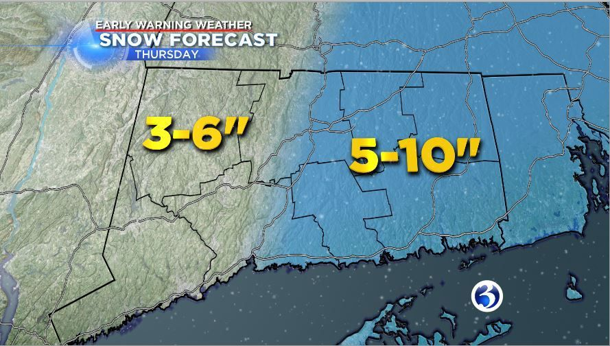 Winter Storm Brody to bring snow, strong winds Thursday