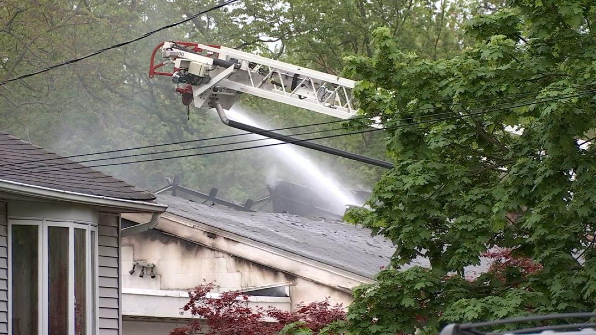 Crews respond to fire and chemical runoff in West Haven