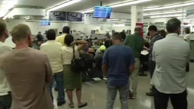 DMV redirects staff to help with long wait times