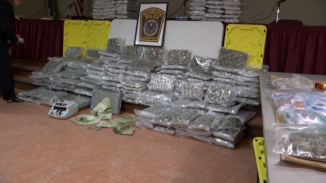 Largest marijuana bust executed in Plymouth's history on Friday