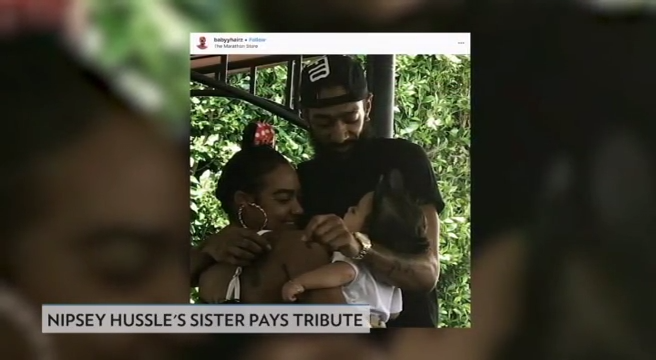 People Now: Nipsey Hussle's sister speaks out in wake of his death