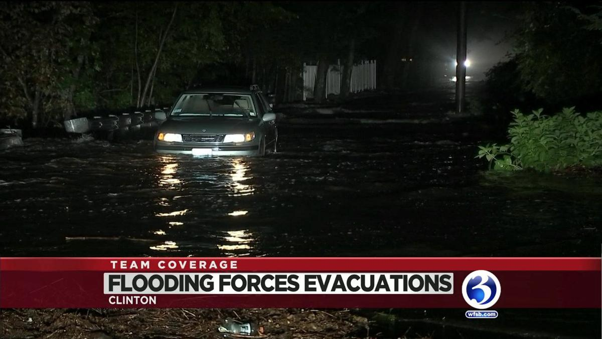 VIDEO: Clinton evacuations remain in place