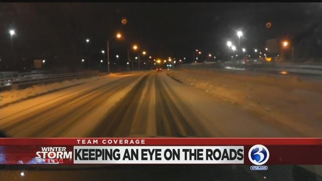 Travel delays expected on the roads, rails and skies