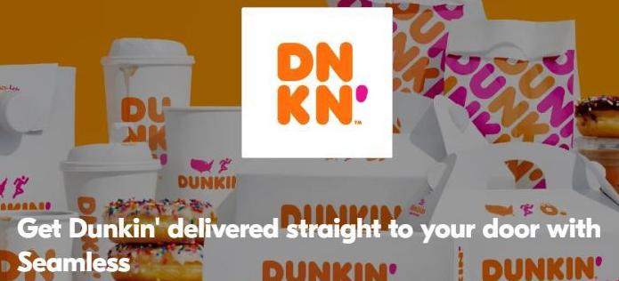 Dunkin' Donuts delivery service launches today