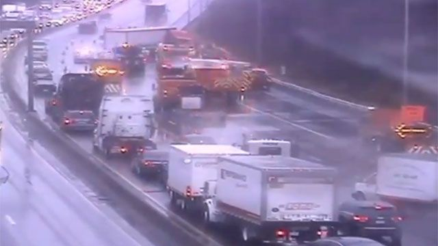 No injuries reported in crash on I-91 in Wethersfield