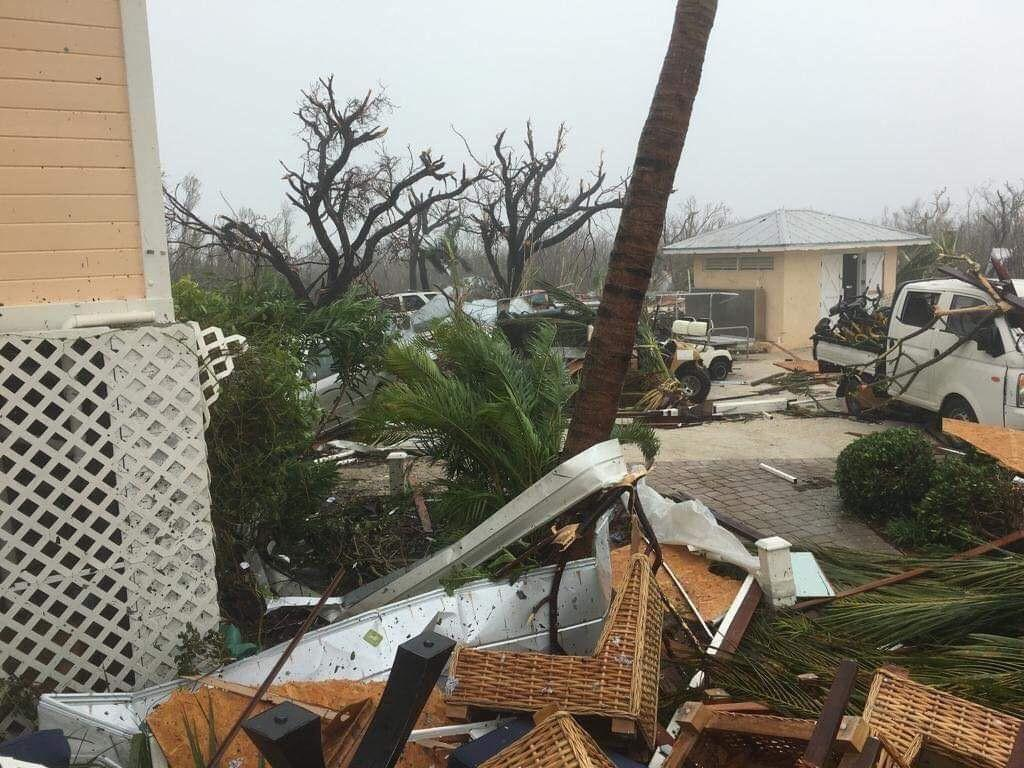 In The Bahamas Shocking Scenes Of Devastation Left By