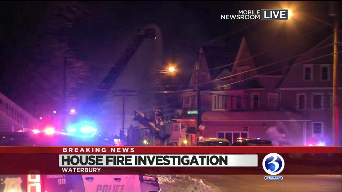 VIDEO: Firefighters respond to fire in Waterbury