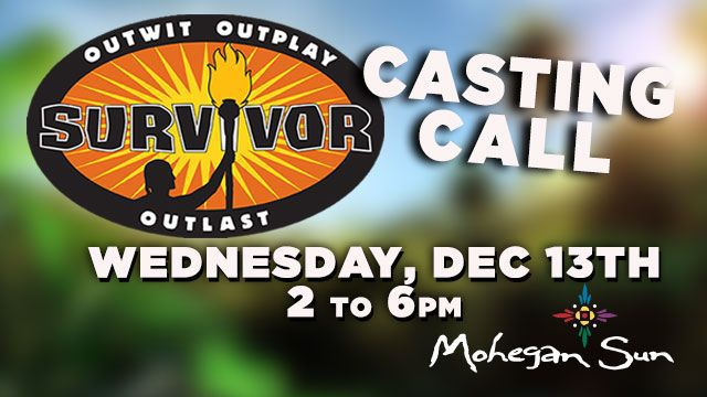 Casting Call for Survivor held today at Mohegan Sun