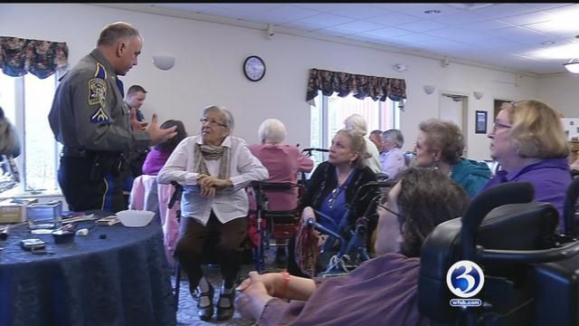 Mansfield state police trooper helps protect seniors from scams