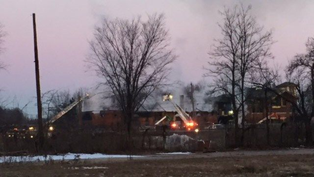 Historic Berlin station closed following morning fire