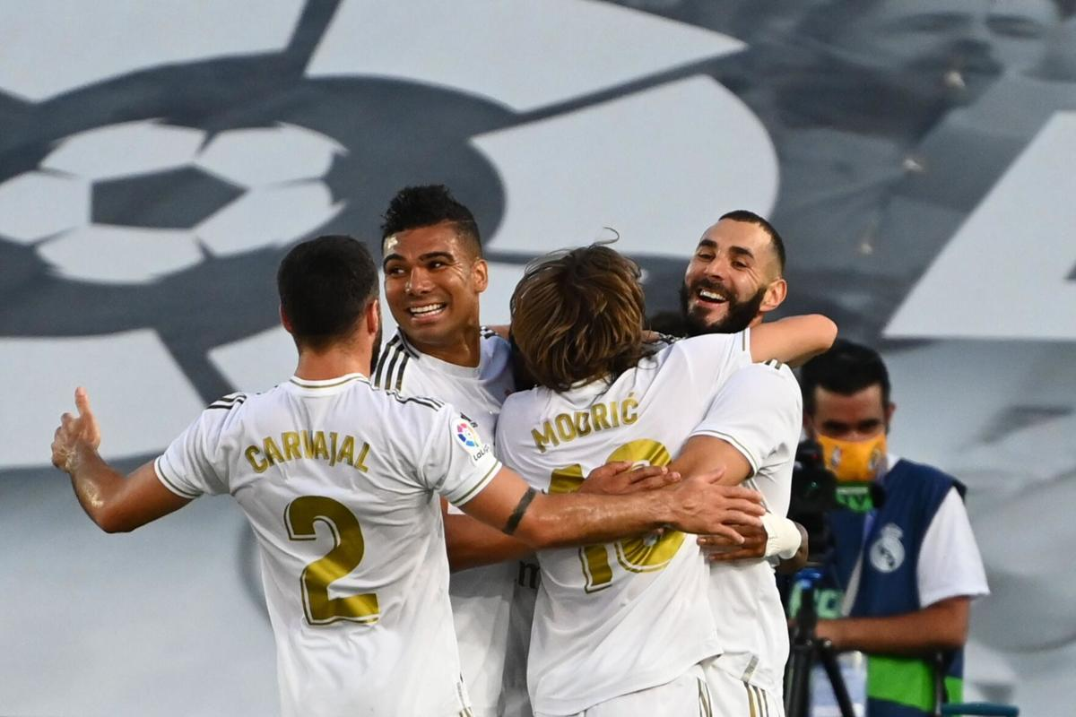 Real Madrid crowned La Liga champion for first time since 2017 ...