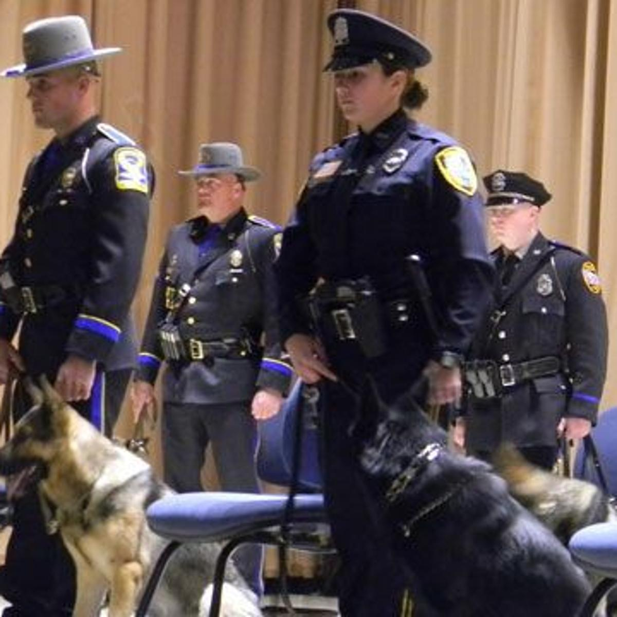 8 K9s graduate to CT State Police Canine Training Unit