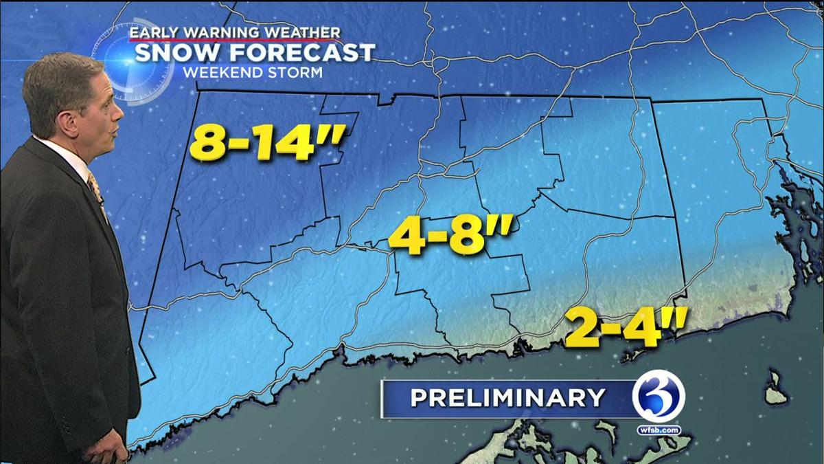 FORECAST: Weekend storm expected to pack a punch | | wfsb.com