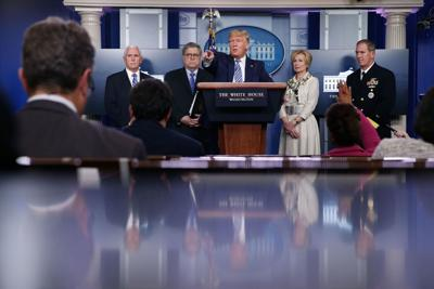 White House officials talk about the coronavirus