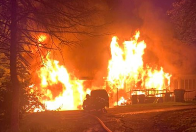 Higby Road Fire