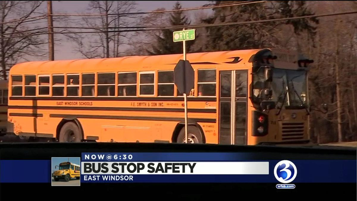 VIDEO: East Windsor police crack down on school bus lawbreakers