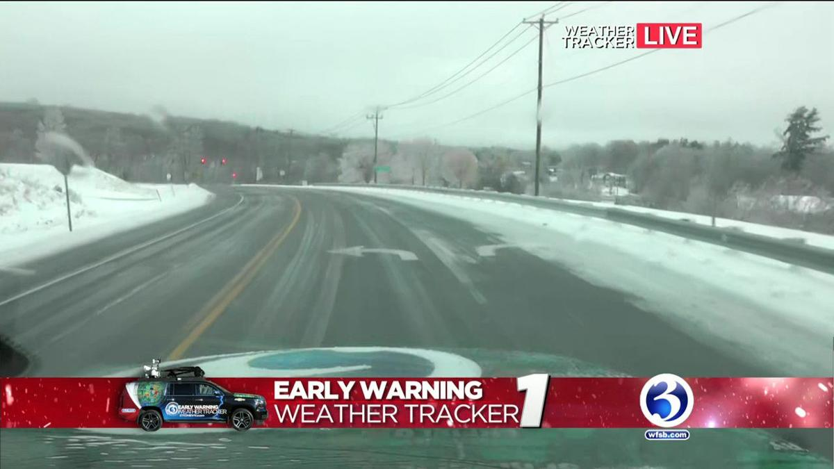 Video: Winter Storm Yoshi causes slick conditions in Woodbury