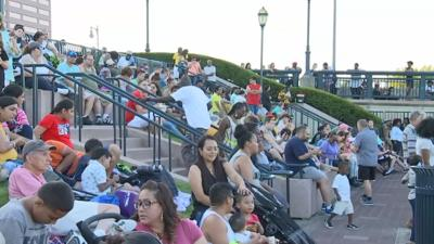 Busy Hartford Night at Riverfront Recapture