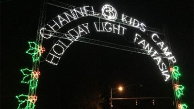 Channel 3 personalities visit Holiday Light Fantasia