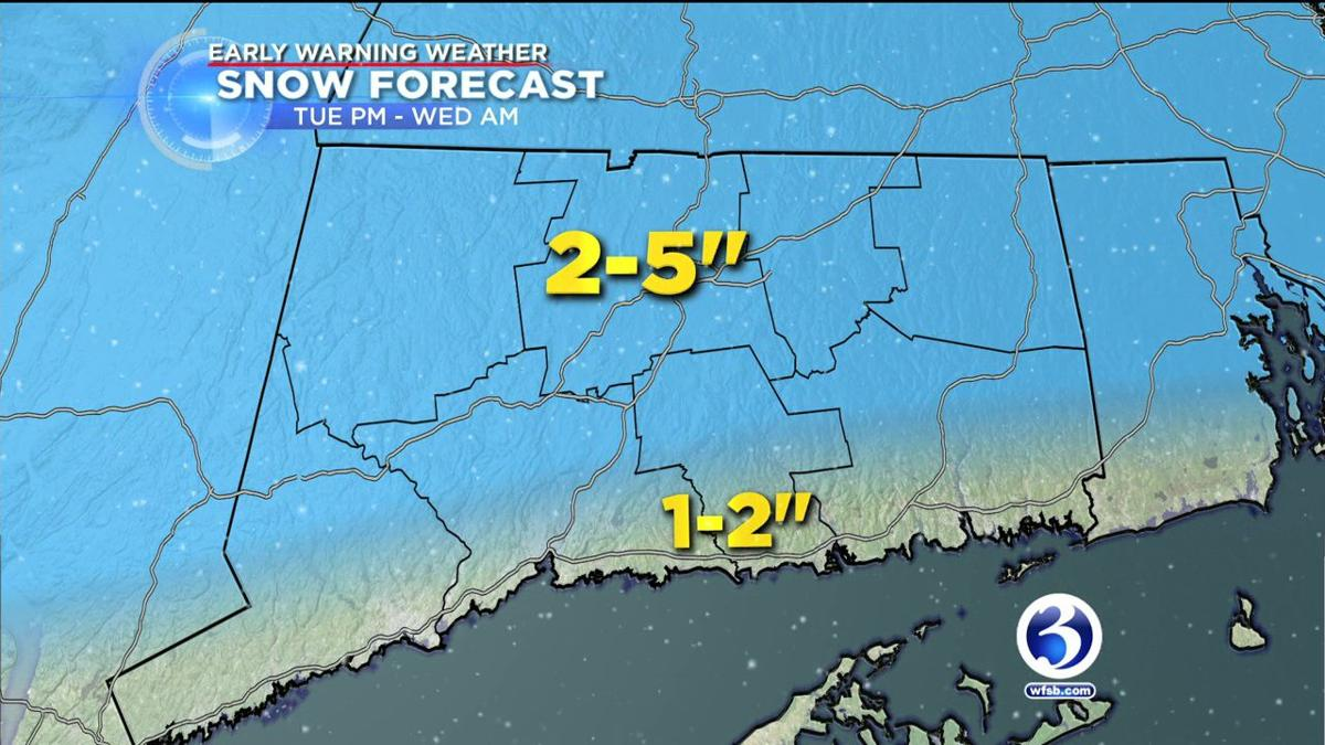 FORECAST Snow starts to transition to icy mix ahead of evening