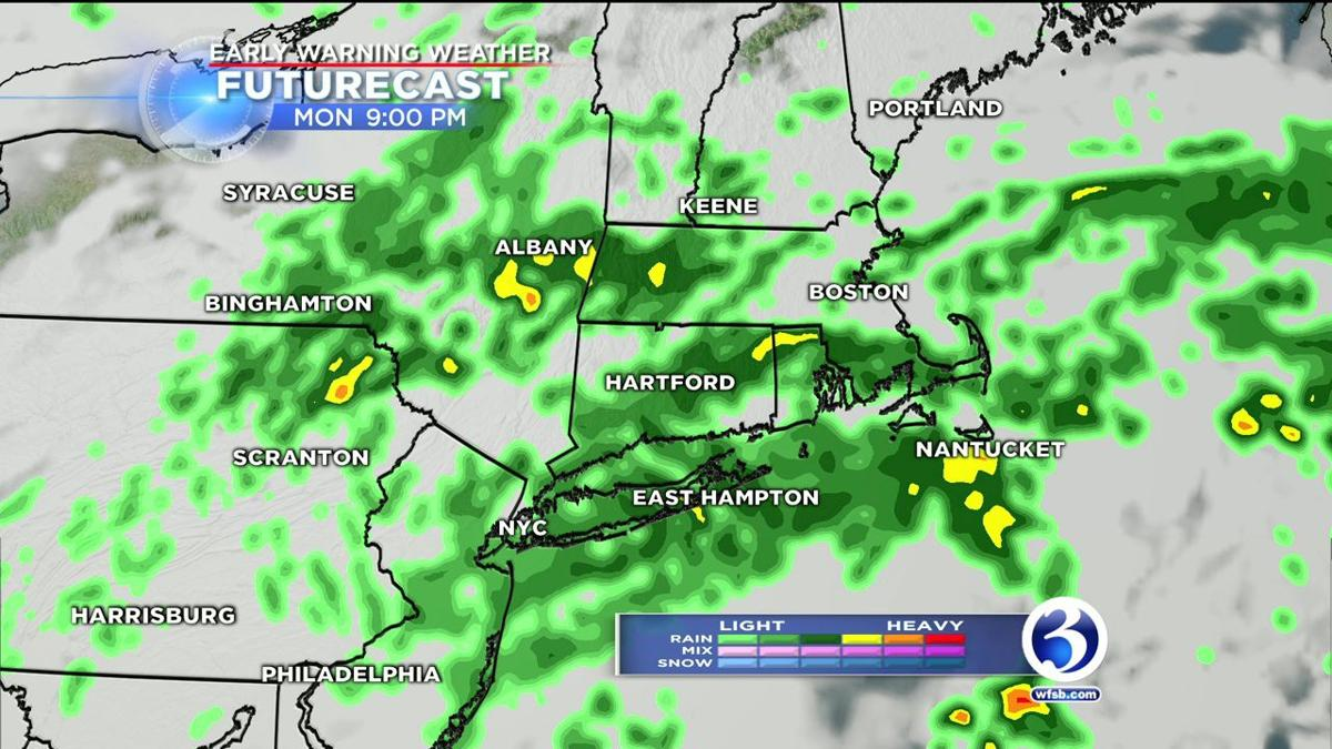 Another round of rain to move into the state on Election Day