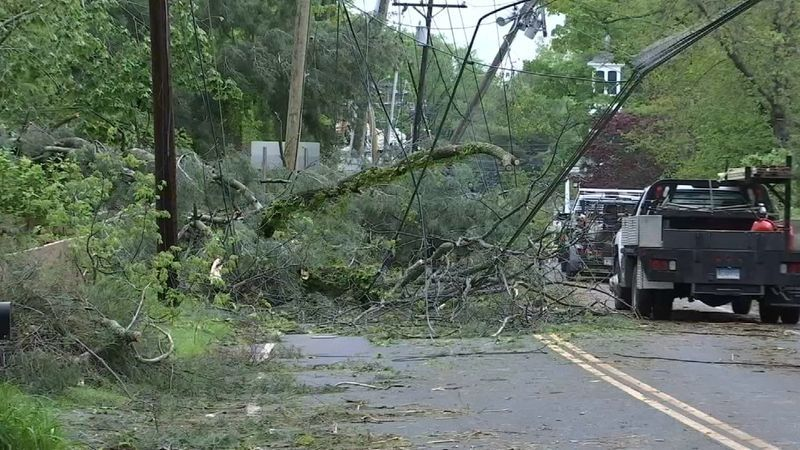 NWS: Third EF1 tornado touched down in Winsted Tuesday