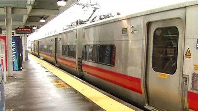 Trains delayed out of New Haven after a person was struck