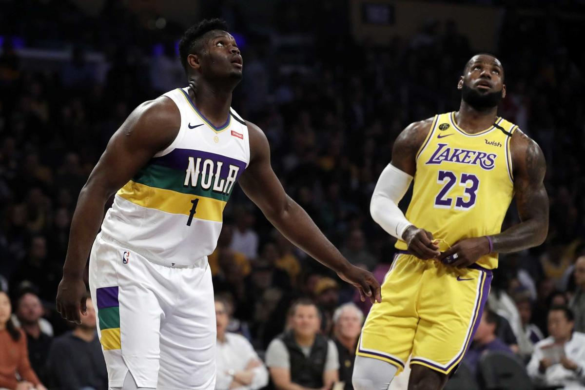 LeBron James calls Zion Williamson 'special' after pair's first clash