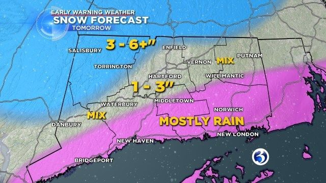 Nor'easter could impact Thursday evening commute