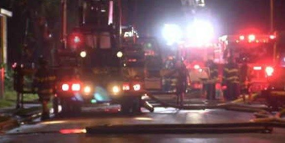 Early morning fire damages vacant home