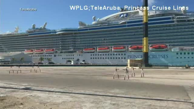 Police are investigating a woman's death abroad the Princess Cruises ship as a murder