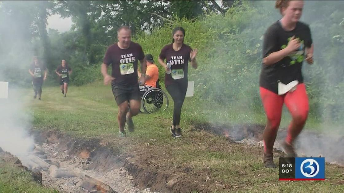 Money raised for nonprofit w/ obstacle course