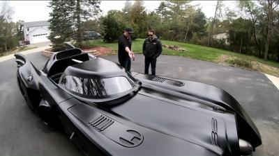 Man creates his own Batmobile from scratch
