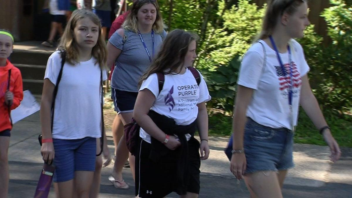 Channel 3 Kids Camp connects children to wounded veterans