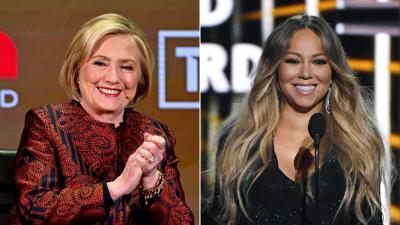 Mariah Carey posts a picture with 'President Clinton' in what appears to be a diss at Trump