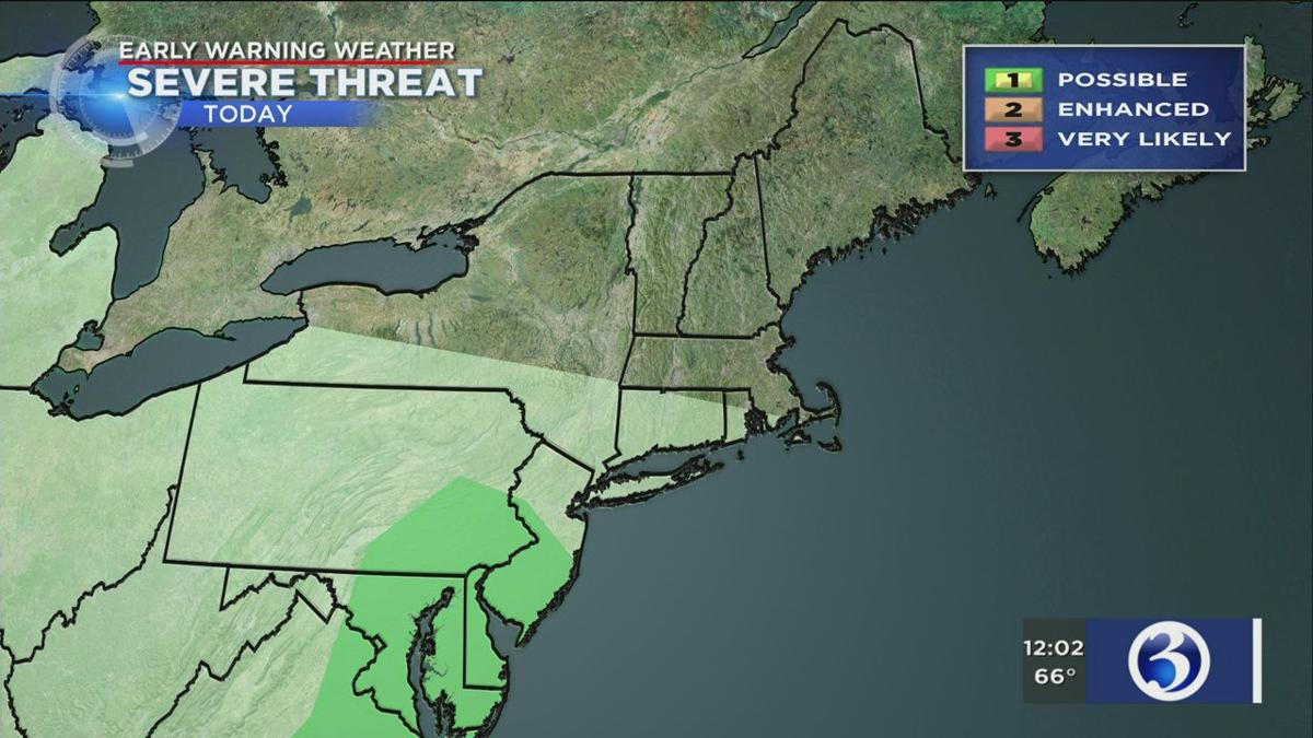 severe weather threat for Thursday